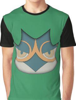 Decidueye face Graphic T-Shirt