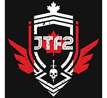 JTF2 - Canadian Skin / Gritty Photographic Print