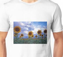 Evening Sunflowers Unisex T-Shirt