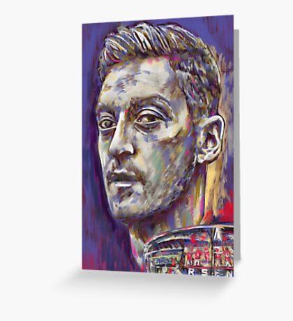 Mesut Ozil - Pride of the Emirates Stadium Greeting Card