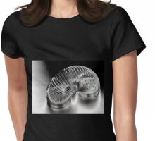 A Metal Coil Makes a Fun Toy Womens Fitted T-Shirt