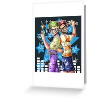 Phiniplier and Ferbsepticeye Greeting Card