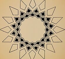 Mandala #211 || Tan by RedBookJournals