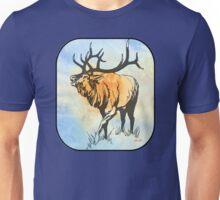 Bull Elk in the Roar Unisex T-Shirt