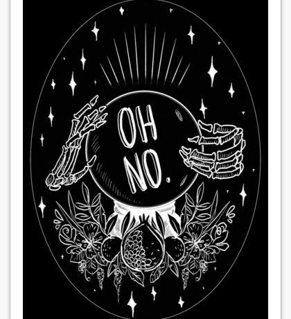 Oh No! Sticker