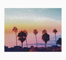 Multiple Palm trees in an Amazing Sunset!  Kids Clothes
