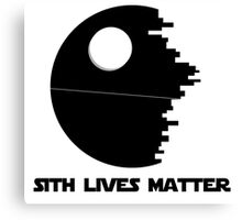 Sith Lives Matter Canvas Print