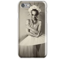 Drama queen in black and white   iPhone Case/Skin
