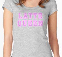 Latte queen Women's Fitted Scoop T-Shirt