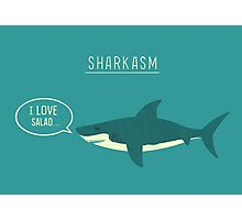 Sharkasm Photographic Print
