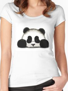 Panda Women's Fitted Scoop T-Shirt
