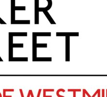 Baker Street Sticker