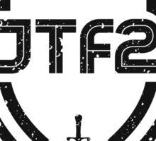 JTF2 - Black / Gritty Sticker