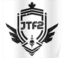 JTF2 - Black / Gritty Poster