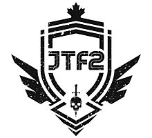 JTF2 - Black / Gritty Photographic Print