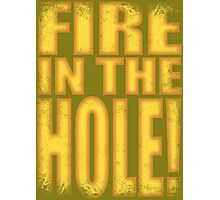 Junkrat - Fire in the HOLE! Photographic Print
