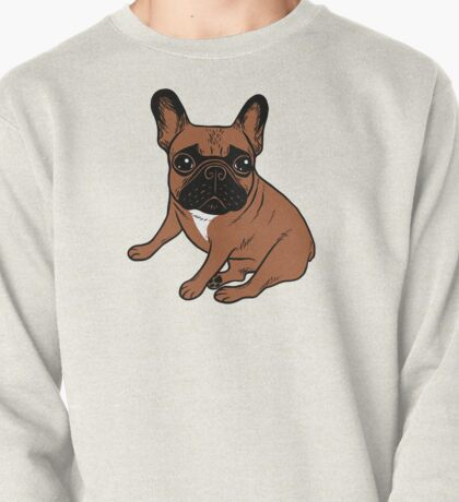Red Fawn Frenchie Pullover