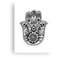 The Hamsa Hand Canvas Print
