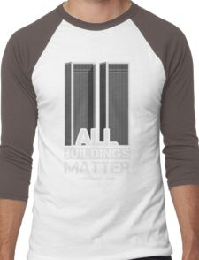 All Buildings Matter Men's Baseball ¾ T-Shirt