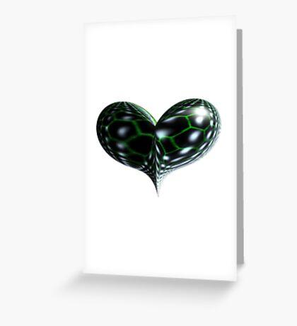 Reptile Heart Greeting Card