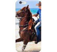 Bathing Horse iPhone Case/Skin