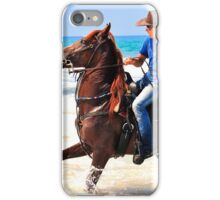 Bathing Horse iPhone Case/Skin