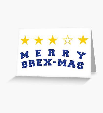 MERRY BREX-MAS Greeting Card