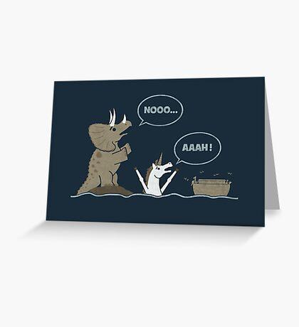Left Behind Greeting Card