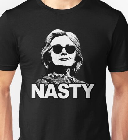 Hillary Clinton Nasty Woman Unisex T-Shirt