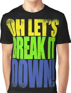 Lucio - Let's Break it DOWN! Graphic T-Shirt