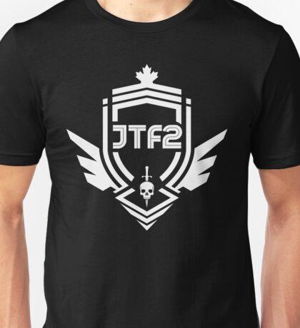 JTF2 - White Unisex T-Shirt