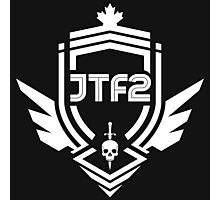 JTF2 - White Photographic Print