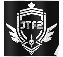 JTF2 - White/ Gritty Poster