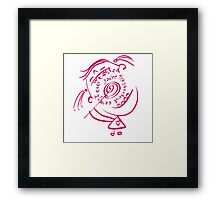Sweetest candy Framed Print