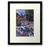 Autumn on Chalk Creek Framed Print