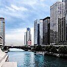 Chicago - View From Michigan Avenue Bridge by Susan Savad