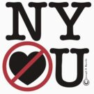 New York Hates You (Classic Stacked Logo) by JoesGiantRobots
