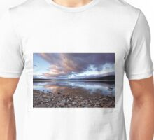 Turquoise Lake Sunrise Unisex T-Shirt