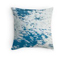 Little fluffy clouds... Throw Pillow