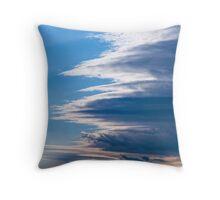 Cloud over cloud over cloud... Throw Pillow