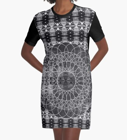 Untitled Graphic T-Shirt Dress