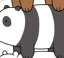 We Bare Bears Stacked Up Sticker