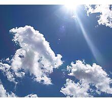 Sunrays Photographic Print