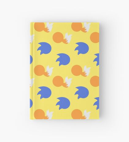 Sonic and Tails (yellow) Hardcover Journal