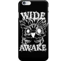 Wide Awake Owl - White iPhone Case/Skin