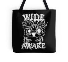 Wide Awake Owl - White Tote Bag
