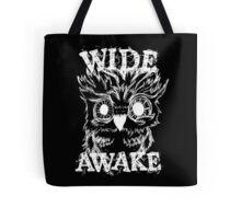 Wide Awake Owl - White Tote Bag