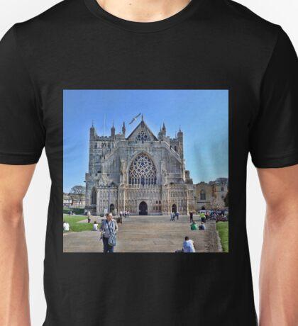 Exeter Cathedral Devon. UK Unisex T-Shirt