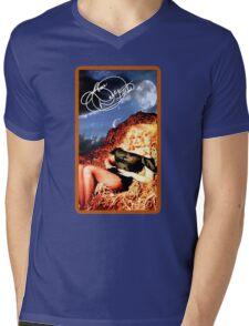 Dolly Parton - Vintage Reproduction - Happy Hay Roll Mens V-Neck T-Shirt