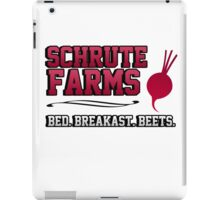 Schrute farms beets. Bed, breakfast beets. iPad Case/Skin